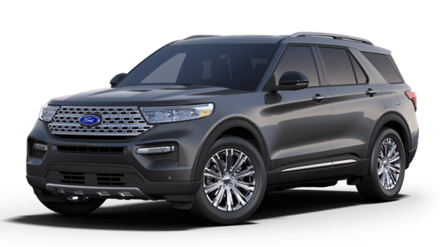 New 2020 Ford Explorer Limited Sport Utility for sale or lease in Kittanning, PA